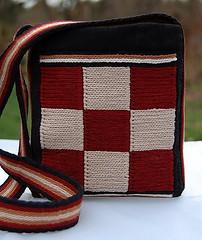 donna's soumak bag front
