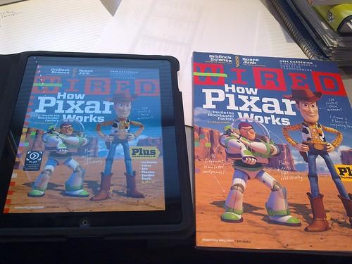 Wired en iPad y papel