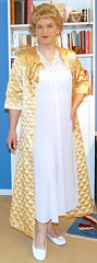 Birgit008861 (Birgit Bach) Tags: robe quilted elaine satin miss nightgown