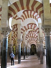 Arches and columns in Mosque-Cathedral, Cordoba (ali eminov) Tags: mosques cathedrals mezquita catedral mosquecathedral housesofworship architecture islamicarchitecture andalusia cordoba spain espana muslimcultures alandalus