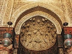 Mihrab  - Madrasa Al.Nassir Mohammed Ibn Qalawun      / El.Muiz Le Din Allah Street / Cairo / Egypt - 29 05 2010 (Ahmed Al.Badawy) Tags: street architecture shots 05 egypt cairo mohammed le 29 ahmed din allah islamic 2010 ibn mihrab  madrasa     badawy qalawun  alnassir albadawy hutect elmuiz