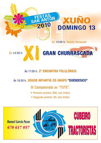 Oleiros - Dexo 2010 - programa domingo