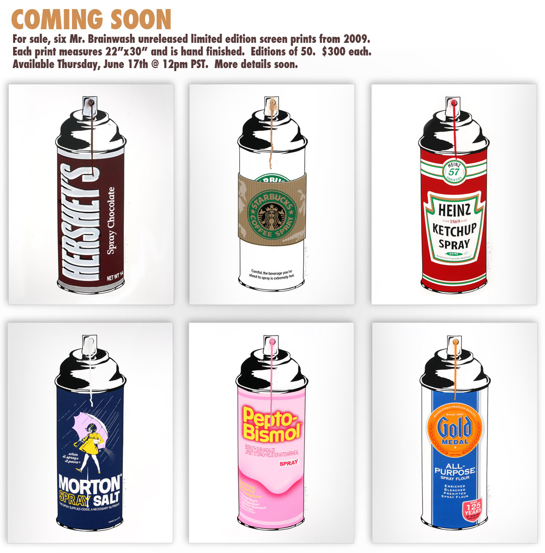 spray can series