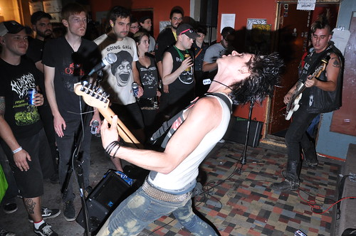 Germ Attak at Yogi's Meatlocker