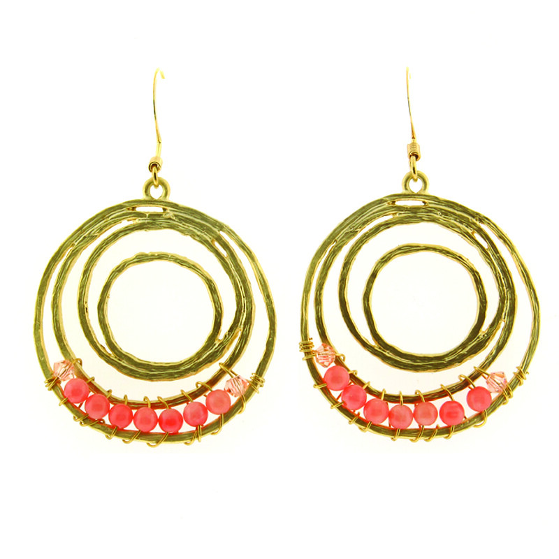 Hoop-and-Pink-Earrings-Opaleen