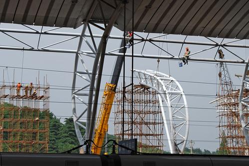 j7 - Building the Nánjīng High-Speed Rail Station