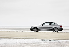 BMW 135i (Pixelklinik) Tags: beach canon bmw coupe 1er 40d 135i