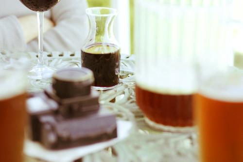Beer, Wine, and Holga (by pricklypearbloom)