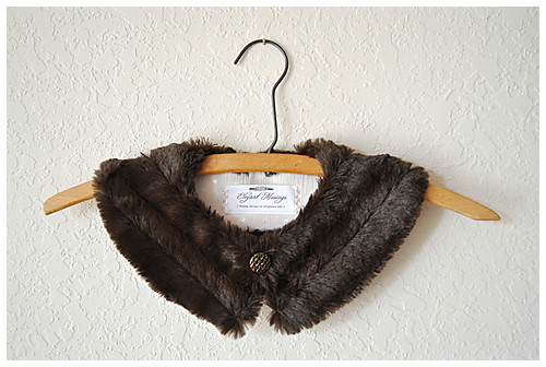 11.17.10 vintage flair: make a faux fur collar!