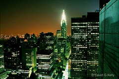 Blade Runner (Dave G Kelly) Tags: city nyc ny newyork rooftop skyline night buildings hotel nocturnal bladerunner manhattan waldorf nighttime eastriver chrysler chryslerbuilding waldorfastoria 10faves 25faves abigfave anawesomeshot aplusphoto davegkelly