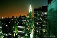Blade Runner (Dave G Kelly) Tags: city nyc ny newyork rooftop skyline night buildings hotel nocturnal bladerunner manhattan waldorf nighttime eastriver chrysler chryslerbuilding waldorfastoria 10faves 25faves abigfave anawesomeshot aplusphoto davegkelly