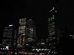 Sydney harbour by night1
