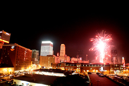 fireworks — July 4