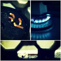 Vicious (Weirdos Lui) Tags: habit cigarettes coffe 50mmf18 fumopocomafumo nonhovogliadismettere