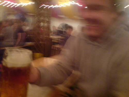 benjamin und sein großes bier