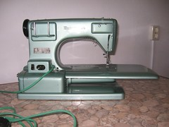 Sewing Machine-  back view
