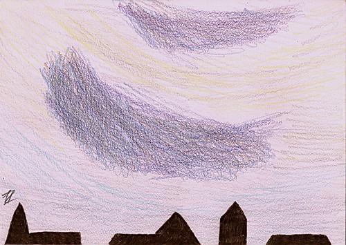 Clouds 4th sketch