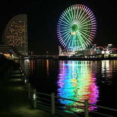 Bleeding Colors (shinnygogo) Tags: japan yokohama minatomirai interestingness69 i500 worldbest colourartaward artlegacy