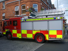 Fire Engine (Garibaldi McFlurry) Tags: truck engine belfast northernireland fireengine emergency siren bluelight firebrigade ulster lisburnroad northernirelandfireandrescueservice
