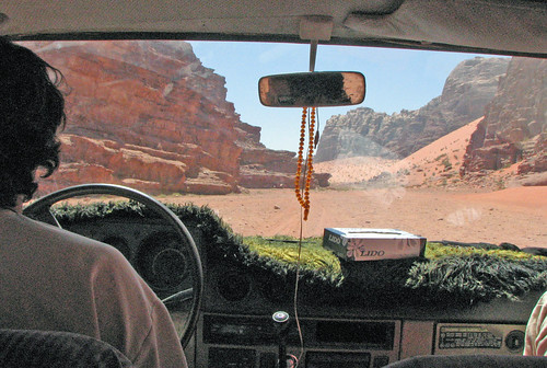 sur les routes du wadi rum