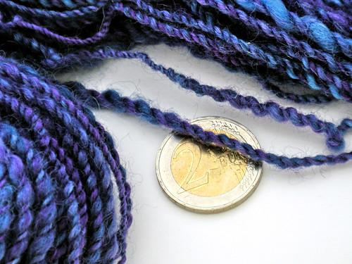 Hand-spun: Midnight Lilac, Details
