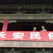 two women at Xian bell tower
