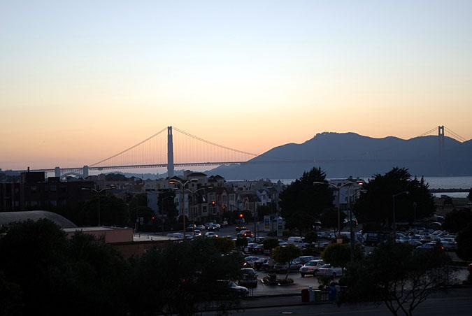 Golden Gate bridge at sunsetDSC_4899