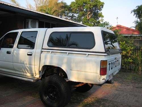 Ute with Canopy