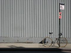GoreB with Bike (SReed99342) Tags: nyc streetart newyork bird bike brooklyn graffiti board goreb signpost bushwick