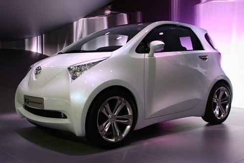 Фото концепт-кары: Toyota IQ