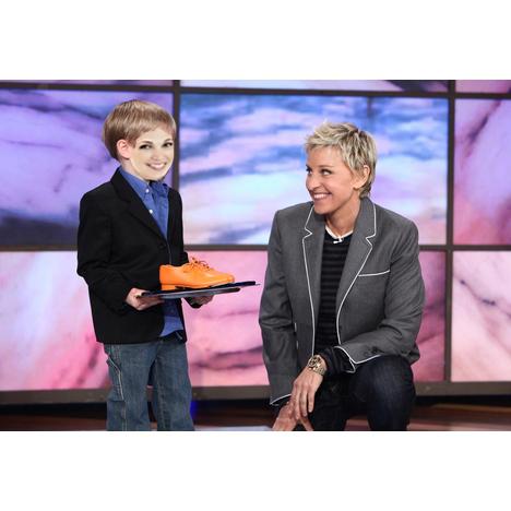 Me and Ellen DeGeneres