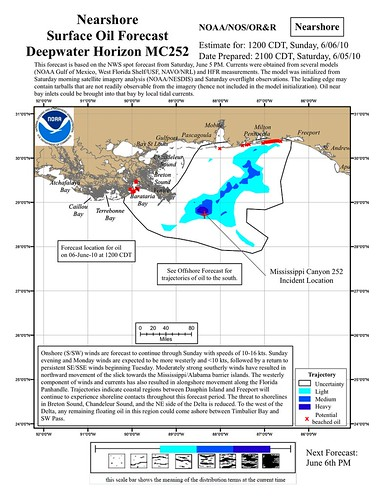 NOAA nearshore projection 6-5