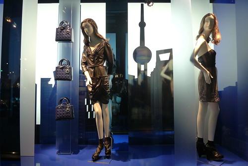 Vitrines Dior - Paris, juin 2010