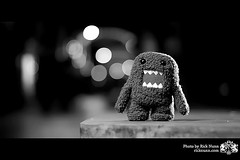 Domo !! (Hello Friend !) Tags: colour canon toy bokeh vivid plush domo lincoln kym rar angy strobist lincolnhassomeinterestingpeople