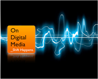 On Digital Media - Electric Waveform
