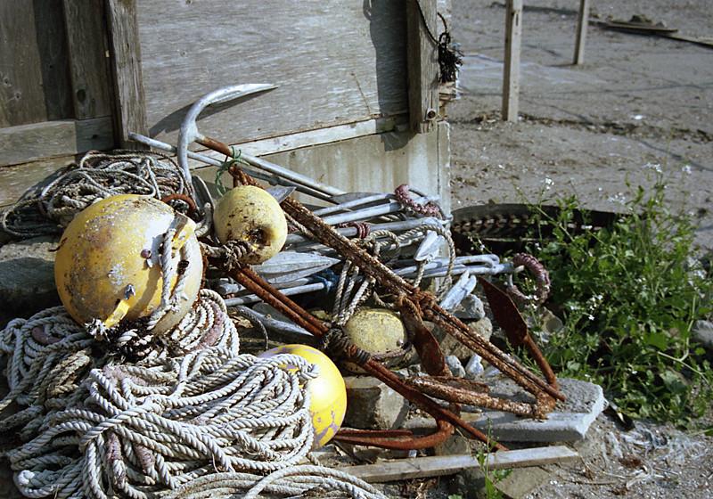漁師の道具