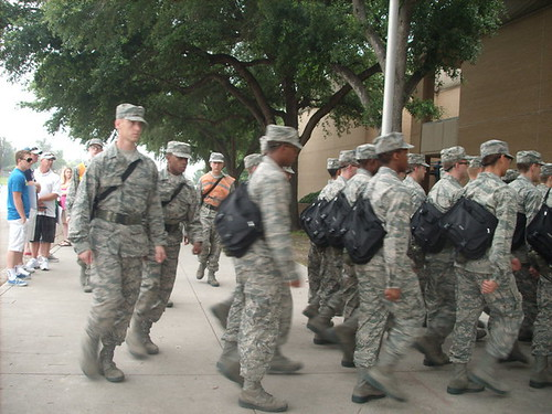 Lackland TX Air Force Boot Camp  Picture taken by a member