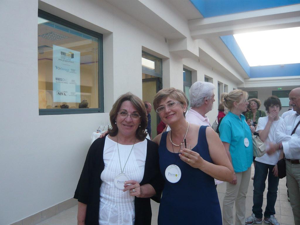 Patrizia Casagrande e Laura Marinelli