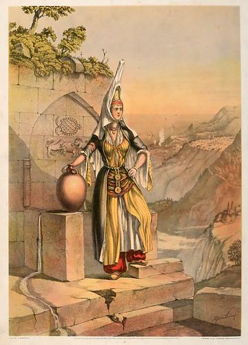 005-Joven Drusa-The oriental álbum 1862- J.H. Van Lennep