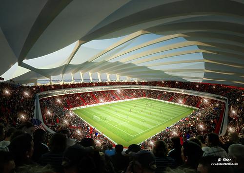Qatar estadio Al Khor FIFA Mundial de Fútbol 2022