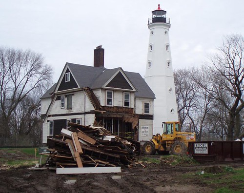 North Point Lighthouse renovation