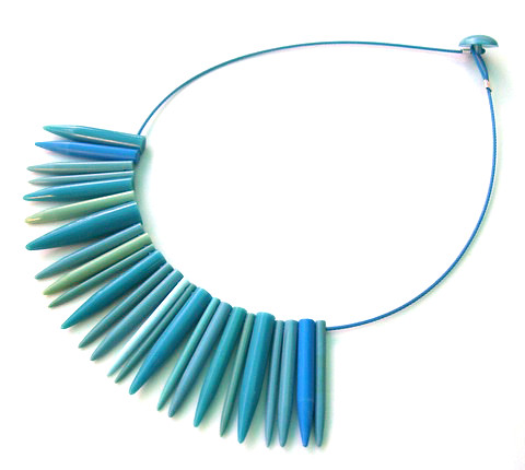 Knitwit Necklace - The Blues