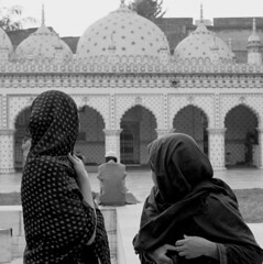 (*Bang Bang Boy*) Tags: blackandwhite bw 35mm nikon mosque dhaka ilfordxp2 bangladesh c41bw nikonfm3a ilfordxp2super400 armantola