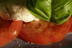 Tomato, Mozzarella, Basil - by Auntie P