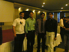 Manish, Vaibhav, Amit Patel and Pankaj Gupta