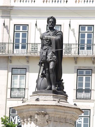 Lisboa - Praça Luís de Camões