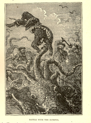 Battle with the octopus