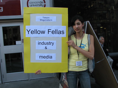 Yellow Fellas gal