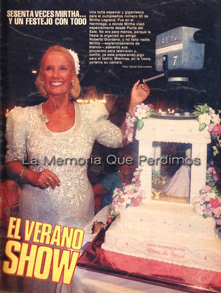 Mirtha - La Semana 1987