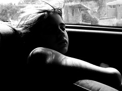'It was a long car ride' (ali.zigeli) Tags: blackandwhite bw august 2007 crnobijelo bardhezi fshldh